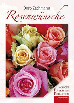 Rosenwünsche - ein Postkartenbuch