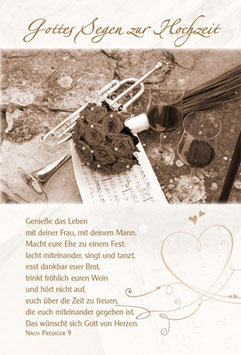 Faltkarte: Macht eure Ehe zu einem Fest