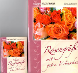 2er-Set Faltbücher Rosen