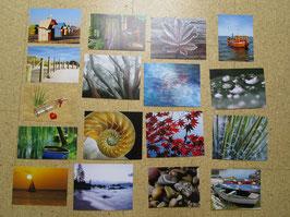 17 Postkarten OHNE TEXT