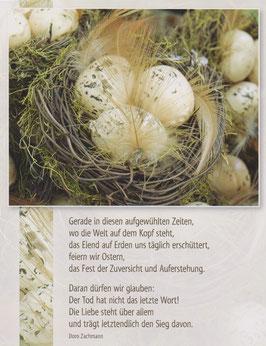 Postkarte Ostern - Fest der Zuversicht und Auferstehung
