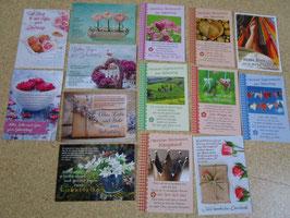 10 verschiedene Postkarten zum Geburtstag