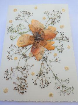 "3er Set Blüten-Faltkarten ""bunt"" BBP9"