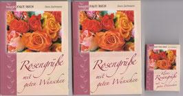 3 Faltbücher: 2 große Rosen + 1 kleines Rosen