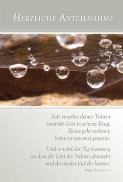 Faltkarte: Jede einzelne deiner Tränen