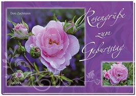 Bildband: Rosengrüße zum Geburtstag