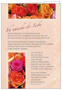 Duft-Faltkarte: Ich wünsche dir Liebe