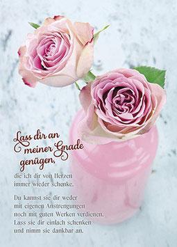 Zwei Rosen - Lass dir an meiner Gnade genügen