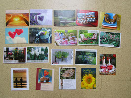 19 Postkarten GUTE FREUNDE