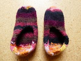 Filz-Hausschuhe / Pantoffeln für Kinder Gr. 32/33 Fantasy
