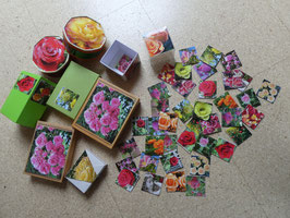 Mein ROSEN-Memory in hübscher Geschenkschachtel, 36 teilig