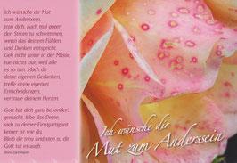 10 Gute-Wünsche-Kärtchen mit Rosenmotiven