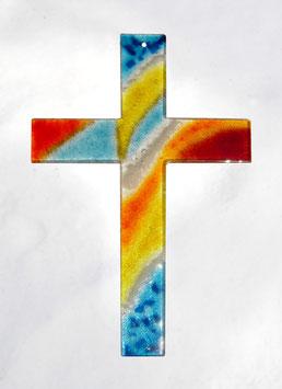Kreuz Farbverlauf 35 cm Nr. 6