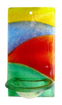 Glas Weihbecken vier Farben W13