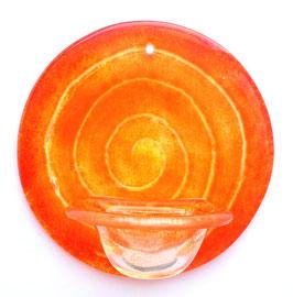 Weihbecken Chakra orange