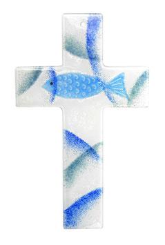 Kreuz Fisch 25 cm Nr. 30