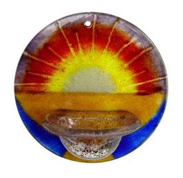 Glas Weihbecken rund Hostie W14