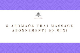 5 Aroma Oil Massage Package ( 60 Min)