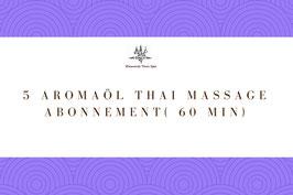 5 Aroma Oil Massage Package ( 60 Min)