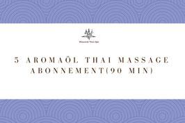5 Aroma Oil Massage (90 Min)