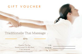 Traditional Thai Massage ( without oil) 60 min
