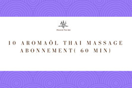 10 Aroma Oil Massage Package ( 60 Min)