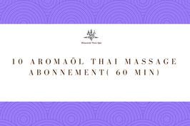 10 Aroma Oil Massage Package ( 60 Min)