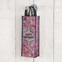 "Bottle Bag ""Happy Birthday"""