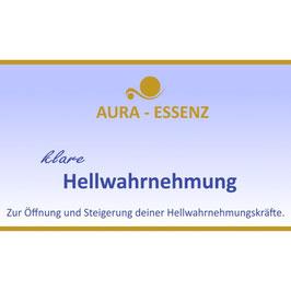 AURA-Essenz: Klare Hellwahrnehmung