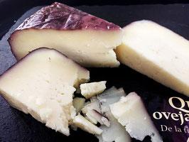 商品名【ワインの香りが上品!】羊ミルク赤ワイン風味のチーズ(アルヴィーノ/3ヶ月熟成)カット