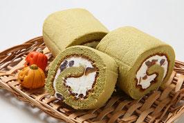 商品名宇治抹茶をふんだんに使用☆抹茶ロールケーキ 長さ16cm