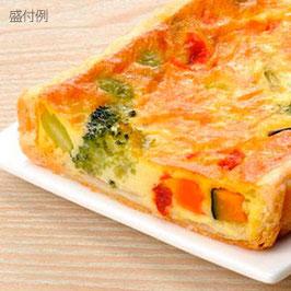 商品名フリーカット 7種の野菜のキッシュ 1本300g
