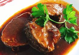 商品名ビーフシチューにどうぞ♪ニュージーランド産ナチュラルビーフ・バラ肉煮込み用(ネット巻き)約500g
