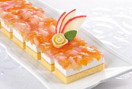 商品名フリーカットケーキ アップル&ピーチ 520g