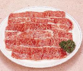 商品名牛カルビ焼肉