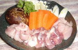 商品名【しっかり飼育された地鶏】栃木しゃも1羽正肉セット1羽分 約1.7kg