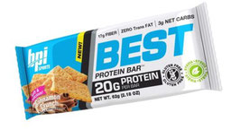 BPI Sports Best Protein Bar (65g) Cinnamon Crunch