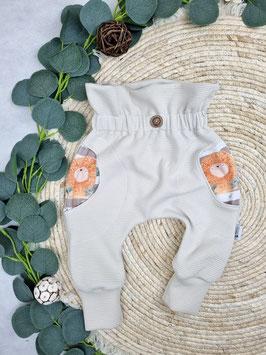 Paperbag Slim Harem Pants Uni- Wähle die Größe