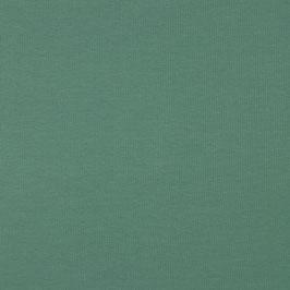0,5 m Bio Jersey - uni - dunkles Altgrün