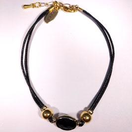 Firenze LUSSO armband Zwart