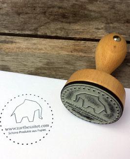 Holzstempel mit deinem Wunschmotiv