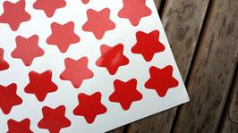 24 süße Sternchen-Aufkleber