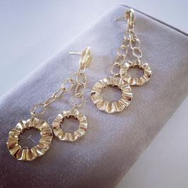 Gipsy Style Ohrringe aus Gelbgold