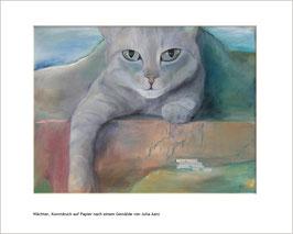 Katzen - Kunstdruck