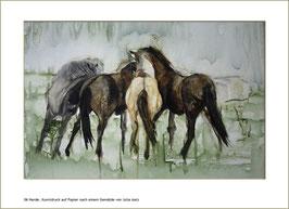 "KDP 006 ""Herde"", Kunstdruck"
