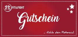 Fit and Fight Gutschein, 1 Monat Training alle Kurse