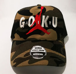Casquette Goku air Camouflage