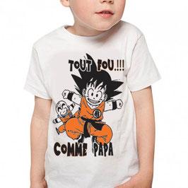 T-shirt enfant Goku