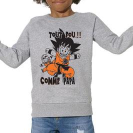 Sweat enfant Goku