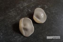 """torori"" ceramic pierce / earrings"